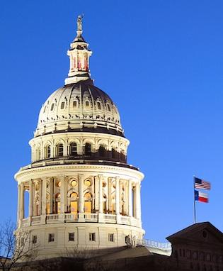 """The Texas government earned a """"B+"""" for transparency."""