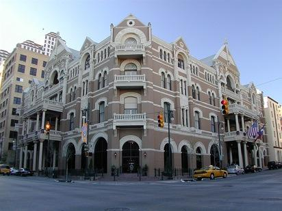 The Driskill Hotel is arguably the most popular in Austin due to its character and home on East Sixth Street.