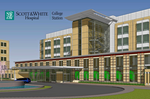 Scott & White building $165M hospital in College Station