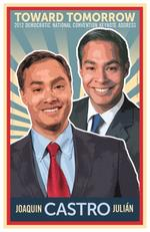 Austin co. designs poster for <strong>Castro</strong>'s DNC speech