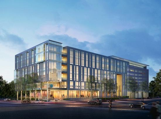 A rendering of Cirrus Logic Inc.'s new Austin headquarters. The company is just one of many U.S. companies postponing its quarterly earnings report due to Hurricane Sandy.