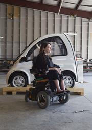 Austin lawyer Stacy Zoern called a struggling Hungarian company in 2010 simply to buy a wheelchair-accessible electric car. Now she's running the business here after nursing it back to financial health.