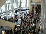 Crowds filled the Austin Convention Center Saturday, March 10 as the cold, rainy weather persisted outside.