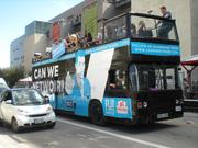 Mobile software maker Austin-based CanWe Studios LLC would give SXSW attendees a ride in their bus for those who tweeted their best pickup line.