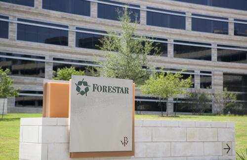 Forestar Group Inc. reported a $2.8 million profit on $28.1 million revenue during the first quarter, up from a $2.5 million loss on $30 million revenue during the same three months the year before.