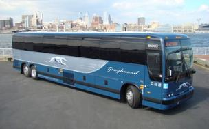 Greyhound Express bus