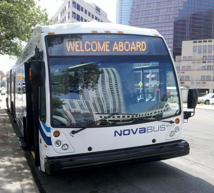 In Austin, the city operates a BRT system called MetroRapid.