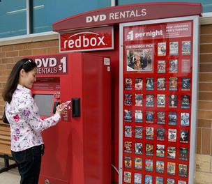 Redbox vending machines are made in Creedmoor, but the plant is shutting down.