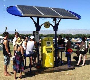 A SolarPump at Cochella.