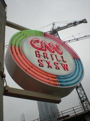 CNN converted Max's Wine Dive at Third Street and San Jacinto Boulevard into the CNN Grill for SXSW.