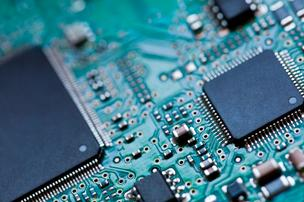 Semiconductor sales fell 7.9 percent both in March and in the first quarter as the global industry continued to readjust following mixed economic reports.