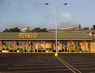 This bingo hall on East Riverside Drive is one of many under Littlefield's belt.