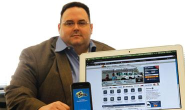Eric Smith, CEO of Unwired Nation Inc., is shifting his company's strategic efforts behind Kinita, an online tool designed to help businesses take their websites to smartphones.