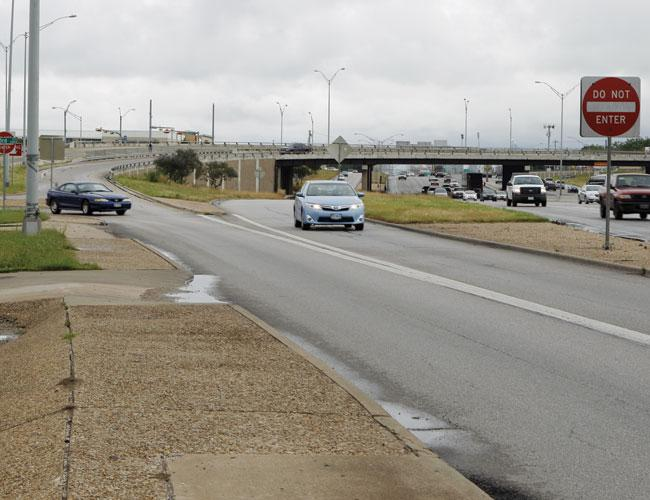 The East 51st Street and I-35 interchange has been bothersome to drivers, particularly those trying to get to Cameron Road from the northbound I-35 frontage road.