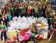 Employees at Active Power's headquarters helped Helping Hand Home for Children send gifts to 45 children. The kids wrote their wish lists, and employees gathered $11,000 to go on a shopping spree to deliver. They even wrapped the presents.