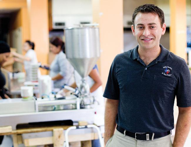 Zach Gultz founded Baby Zach's Fine Foods Inc., which makes a variety of hummus, after his recipes proved popular at tailgate parties.
