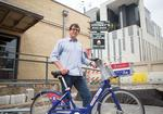 Technology makes bicycle sharing a snap