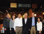 Billiard Factory hosted a party for volunteers and sponsors of the 2013 American Cancer Society Cattle Baron's Ball to be held Feb. 23. From left are Todd and Pam Gilmour, chairs of the 2013 ball; Bob Cohen, Mark Harris, Ryan Stick and Anna Melissa Cavazos.