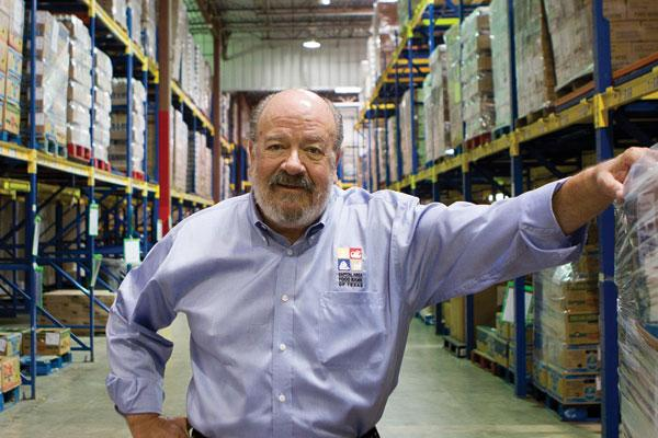 Hank Perret, CEO of the local food bank, needs more space to serve more people.