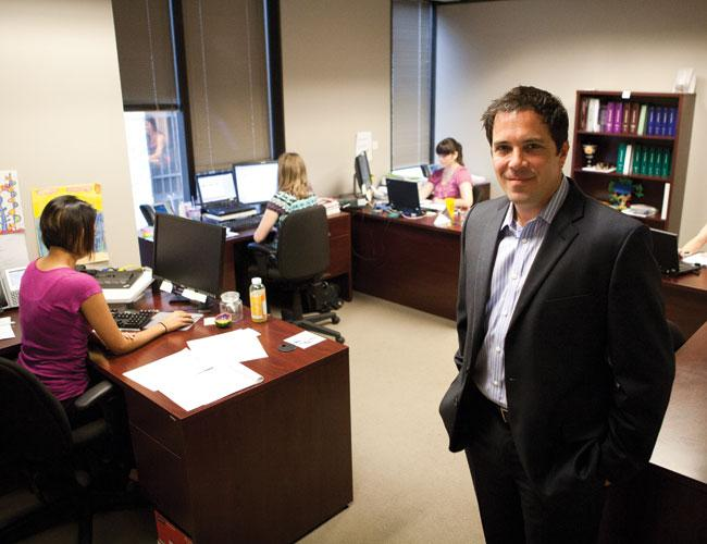 Chris Thomas of the Reznick Group was surprised by how few options his company had to expand its Austin office downtown.