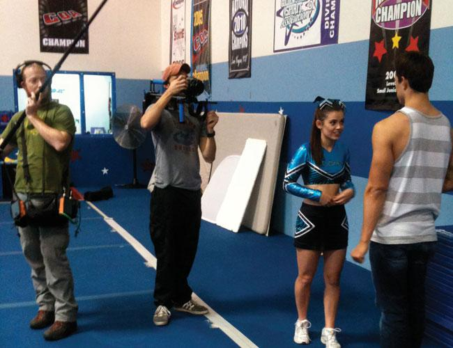 "Cheer Channel Inc.'s Web series ""Secret Diary of an American Cheerleader"" was filmed in Los Angeles. Season two will be filmed in Austin."