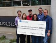 Cirrus Logic donated $20,000 to Health Alliance for Austin Musicians on behalf of its employees.