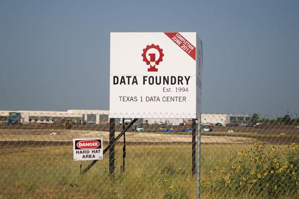 Data Foundry is one of many data-center builders near Austin-Bergstrom International Airport. The $150M facility in the works is the first of two.