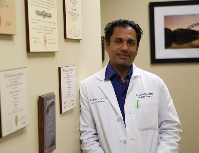 Dr. Koushik Shaw earns much less now that he has his own practice, but he expects to regain his previous income a few years from now.