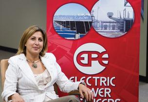 Hala Ballouz, CEO of Electric Power Engineers Inc., sees interest in solar energy rising in Central Texas.