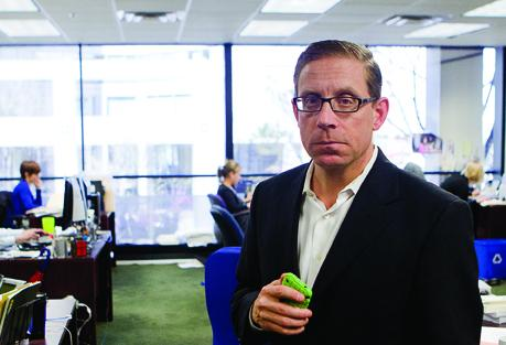 The Texas Tribune is using Kickstarter to raise funds that will pay for the news operation to livestream key events during the 2014 Texas gubernatorial election. Editor Evan Smith, pictured, said livestreaming has become an important tool for the Tribune to spread its brand.