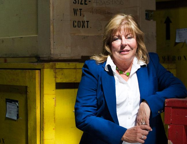 Peggy Swords has led Excalibur Exhibits, a trade show services and manufacturing firm, through an industry slump.