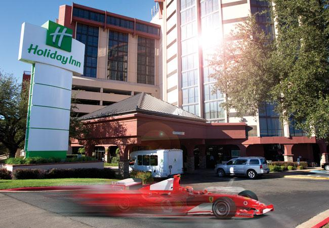 The Holiday Inn at Lady Bird Lake plans to offer special packages for Formula One race fans staying for the Grand Prix race next year.
