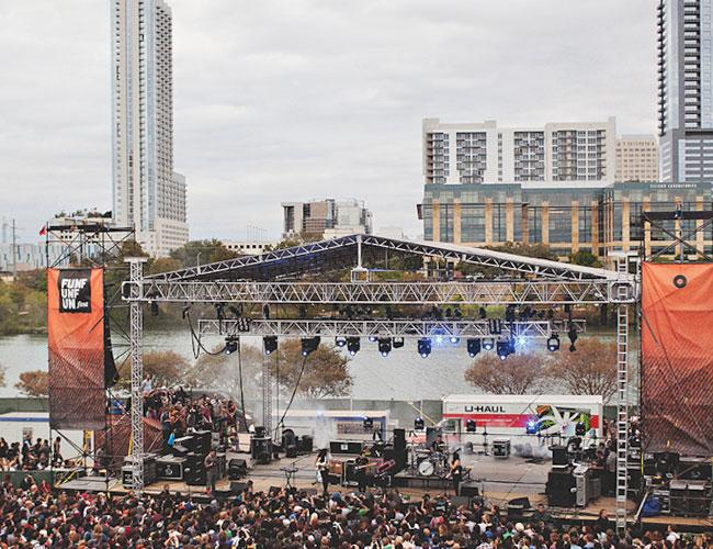 About 15,000 people attended last year's Fun Fun Fun Fest.