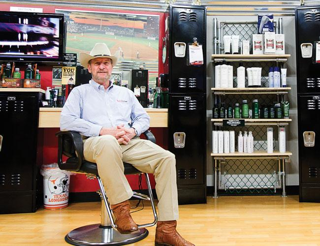 Gordon Logan, CEO and founder, Sport Clips