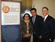 Hispanic Leadership Austin held a conference on Oct. 9. attended by Secretary of State Hope Andrade, Stefan Molina of the hispanic chamber and Michael Whellan of Graves Dougherty Hearon & Moody PC.