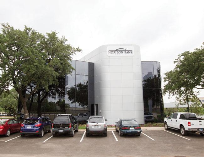 This building in North Austin at Technology Boulevard and U.S. Highway 183 wasn't high-profile enough for banking giant BB&T, but it suits Horizon Bank just fine. It just bought the spot for its second Austin branch, and bank representatives don't think they'll need many more.