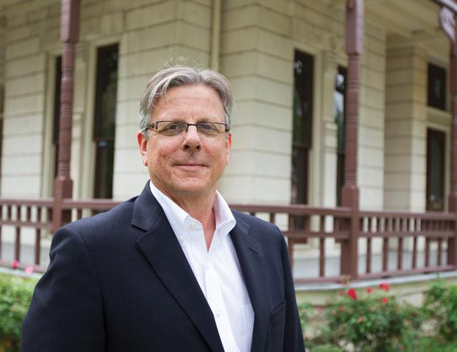Jamie Rhodes is known in these parts as a UT alum who started the Central Texas Angel Network. But in College Station, he's A&M's head of new ventures.