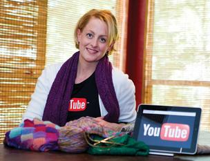 Staci Perry's YouTube channel has helped her dramatically increase online sales.
