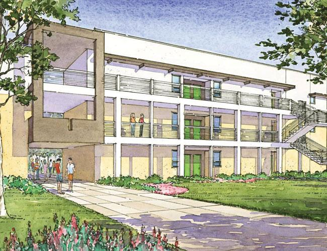 Affordable housing like this 45-unit apartment complex to be built by LifeWorks is an important piece for putting the nonprofit agency's clients on a path to economic stability.