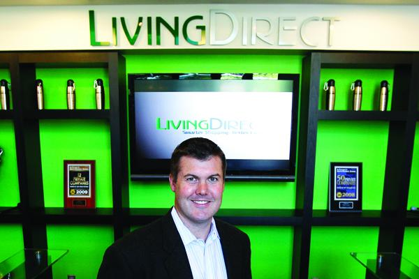 Rick Lundbom has built Living Direct Inc. as a bootstrapped business into one approaching $50millon in annual revenue.