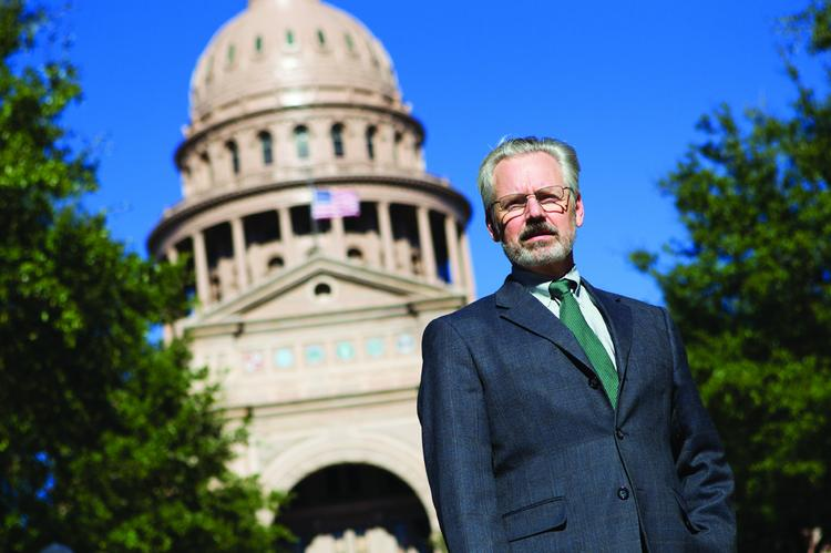 James Lebas, a lobbyist who helped create the current version of Texas' franchise tax, says it creates a tax system that more closely mirrors the makeup of the economy.