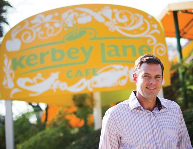 Mason Ayer's parents started Kerbey Lane Cafe 33 years ago. Lease disputes at other locations were costly, and he couldn't stomach the possibility of being pushed out of the original location so he bought it.