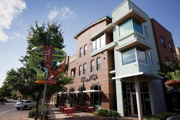 The Galaxy Cafe is among several retail tenants creating a symbiotic relationship with the residential tenants at The Triangle mixed-used development.