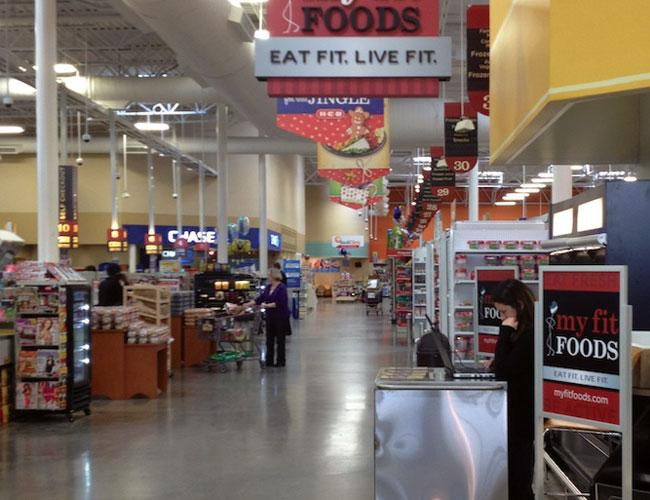 My Fit Foods recently opened a kiosk in the HEB at East William Cannon Drive and Brodie Lane.