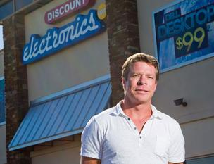 Rick Culleton, founder and CEO of Austin-based Discount Electronics
