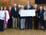 Supporters of the Highland Lakes Heath Fund and Seton Highland Lakes celebrated their ability to  purchase MRI technology soon. A $2 million grant from HLHF will get the project going.