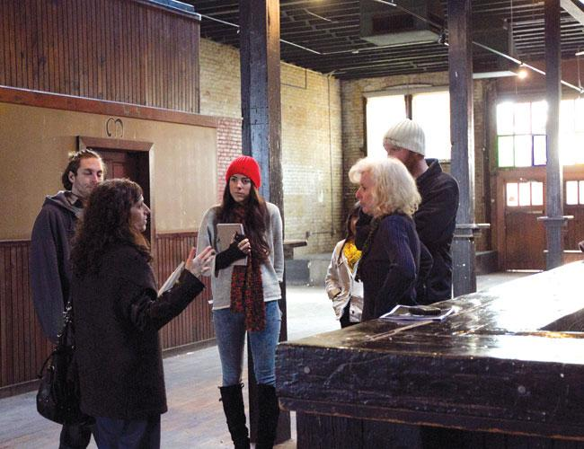 Samantha Staples (right) and her team at High Beam Events show 