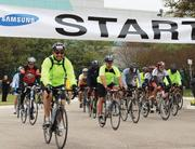 The 19th Annual Rosedale Ride, presented by Samsung Austin Semiconductor and the Rosedale Foundation, started and finished at Samsung's facilities and saw over 1,000 riders this year.
