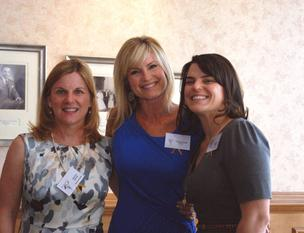 Co-chairs Beverly Reeves (left) and Elizabeth Yeager (right) with keynote speaker Ronda Gray at the recent See Jane Give! event, a program of I Live Here, I Give Here.