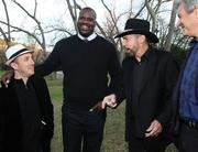 Forbes Editor Randall Lane (left), basketball legend Shaquille O'Neal (center) and Austin entrepreneur John Paul DeJoria share a few laughs at the Forbes '30 Under 30' SXSW party.